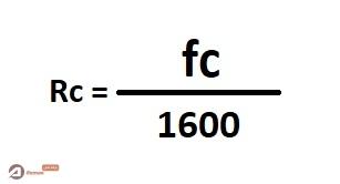فرمول محاسبه مقاومت فشاری سیمان