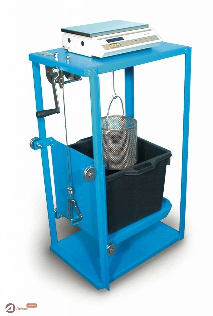 دستگاه چگالی سنج آزمایش وزن مخصوص سنگدانه