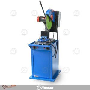 دستگاه برش مقاطع بتن در آزمایش کرگیری و برش منشور بتنی