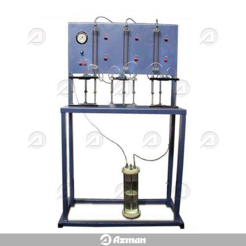 دستگاه سنجش نفوذپذیری آب در بتن