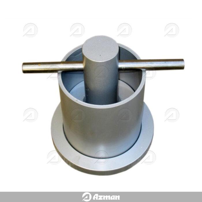 دستگاه تعیین مقاومت مصالح در برابر خرد شدن (کراشینگ ولیو)