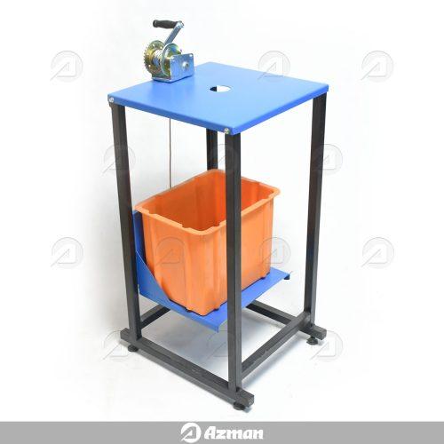 میز و سطل ارشمیدس