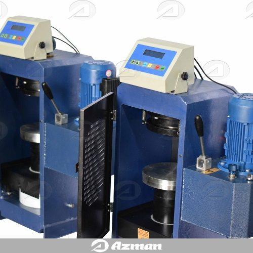 دستگاه تعیین مقاومت فشاری بتن ، آجر ، بلوک و موزاییک - 200 تن دیجیتال ساده - آزمان