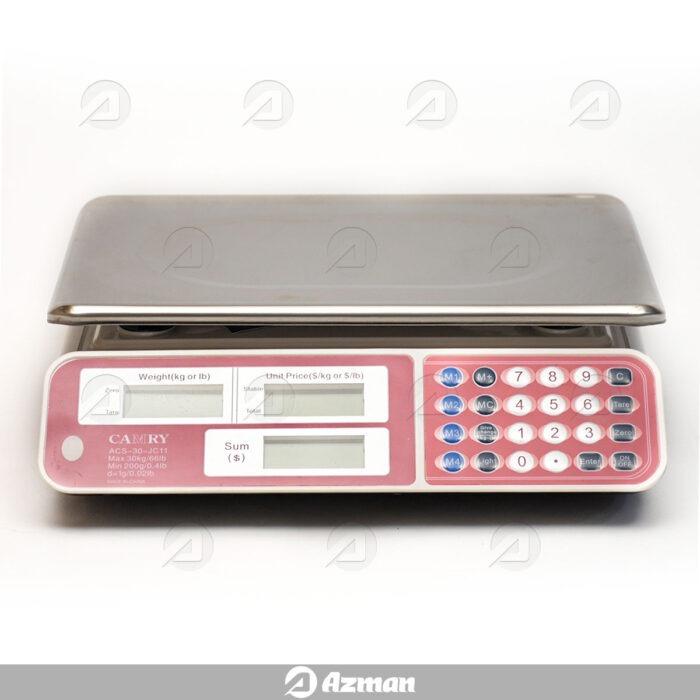 ترازوی دیجیتال با دقت 1 گرم و ظرفیت 30 کیلوگرم