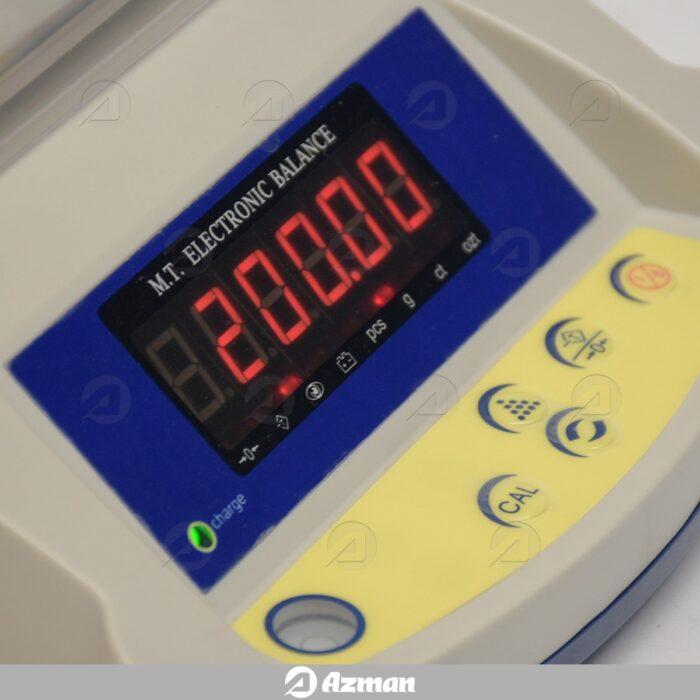 ترازوی دیجیتال با دقت 0.01 گرم و ظرفیت 600 گرم