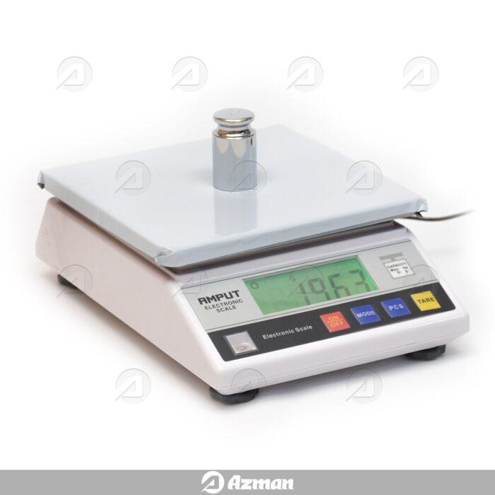 ترازوی دیجیتال با دقت 0.1 گرم و ظرفیت 5 کیلوگرم