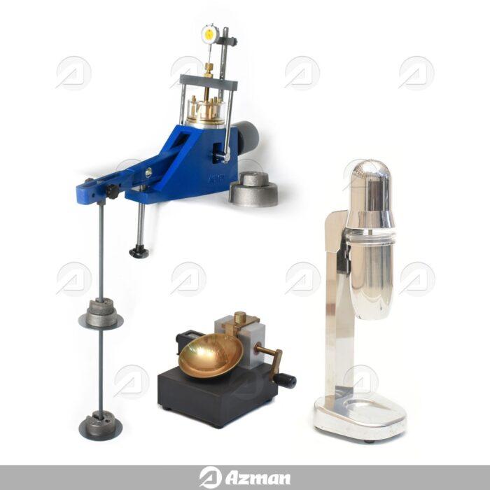 تجهیزات آزمایشگاه خاک نظام مهندسی