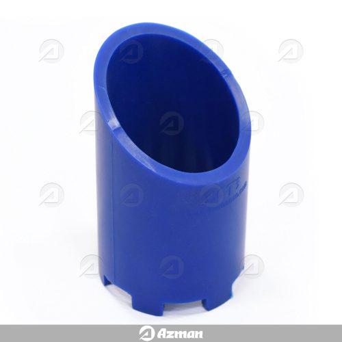 نگهدارنده نمونه بتن از جنس سیلیکون آبی با محفظه تبادل مایع در سلول RCMT